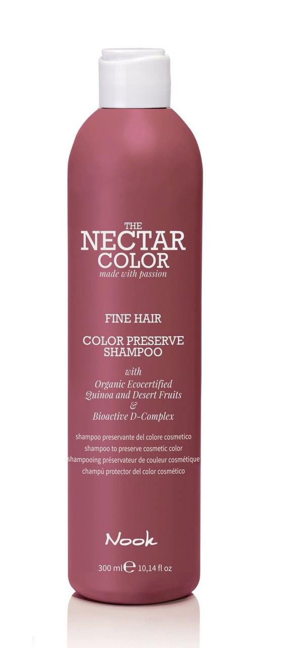 """Шампунь """"Стойкость цвета"""" для тонких и нормальных волос NOOK color"""