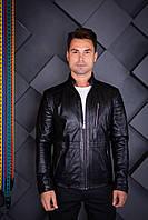 Куртка кожаная Oscar Fur 450 Черный