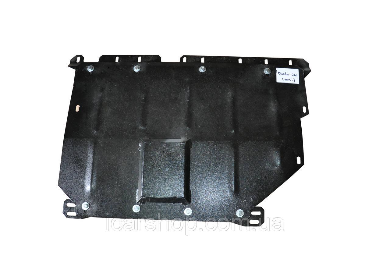 Захист двигуна/КПП Fiat Doblo II 10-