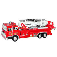Пожарная машина 001 (24шт) инер-я, в слюде