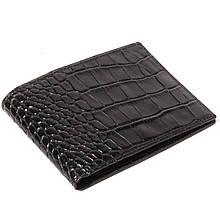 Чоловічий гаманець шкіряний чорний Eminsa 1051-4-1