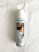 Краска восстановитель цвета для изделий из замши и нубука Salamander 250мл темно-коричневый