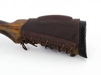 Патронташ на приклад с возвышением кожаный на 7.62, фото 1