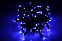Уличная светодиодная гирлянда нить Lumion String Light (Стринг лайт) 100 led наружная цвет синий