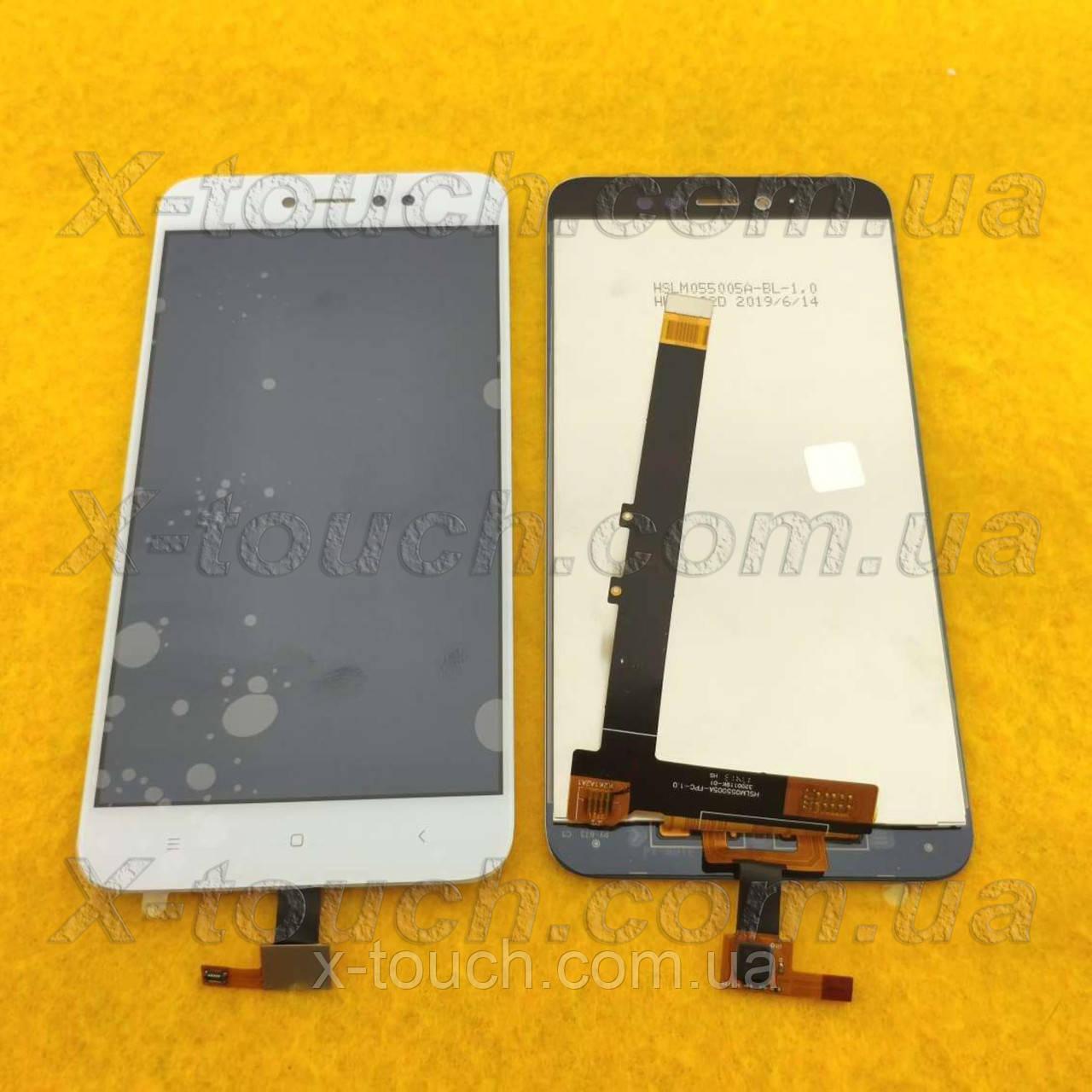 Модуль Xiaomi Redmi Note 5A Prime (LCD) дисплей с сенсором для телефона, белый.