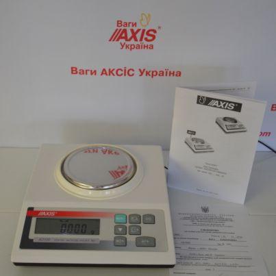 Весы лабораторные АХIS AD50