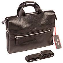 Чоловіча сумка портфель Eminsa 7102-18-1 шкіряна чорна