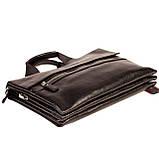 Мужская сумка портфель Eminsa 7102-18-1 кожаная черная, фото 4