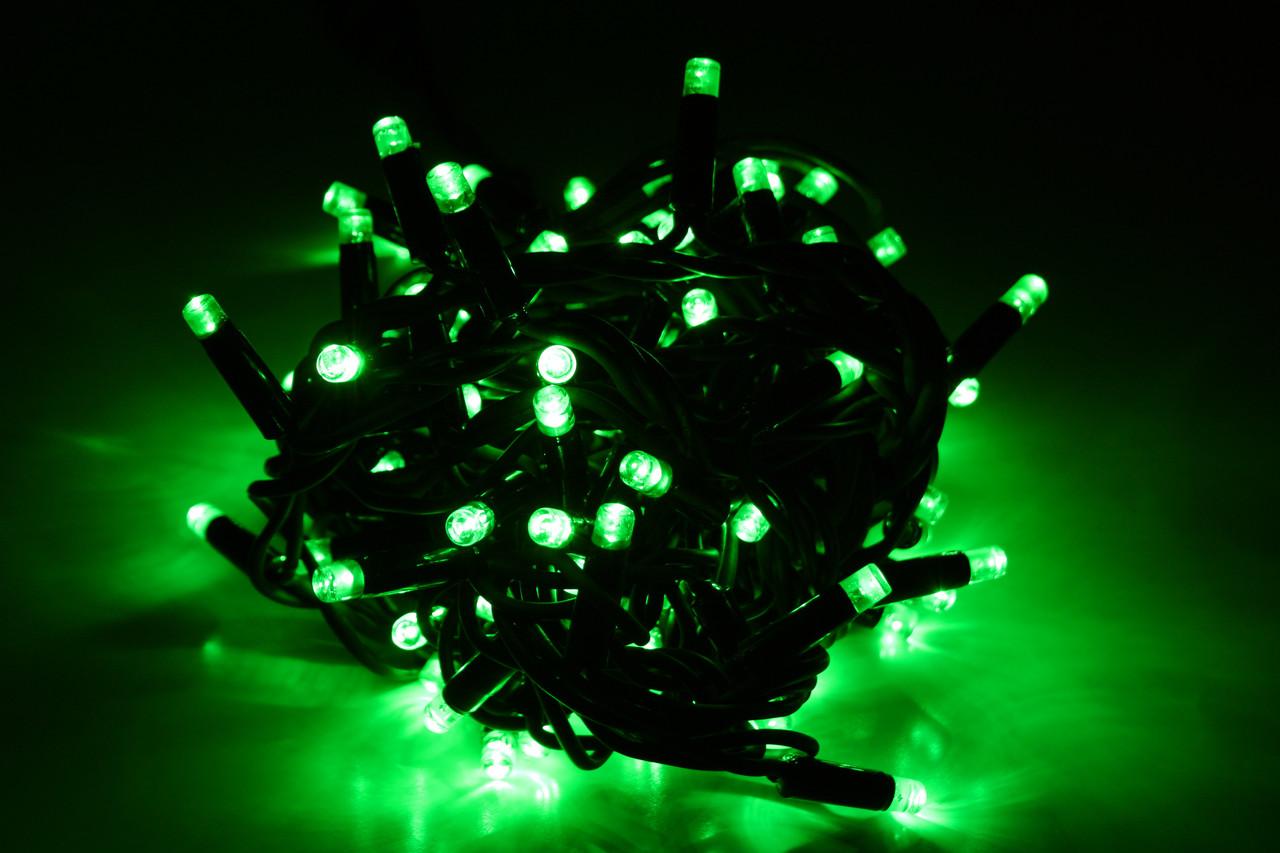 Уличная светодиодная гирлянда нить Lumion String Light (Стринг лайт) 100 led наружная цвет зеленый