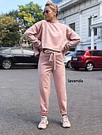 Женский спортивный костюм замшевый в разных цветах, фото 1