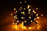 Уличная светодиодная гирлянда нить Lumion String Light (Стринг лайт) 100 led наружная цвет желтый