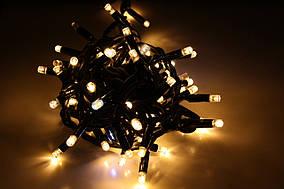 Уличная светодиодная гирлянда нить Lumion String Light (Стринг лайт) 100 led наружная цвет белый теплый