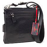 Мужская сумка кожаная черная Eminsa 6096-37-1, фото 2