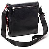 Мужская сумка кожаная черная Eminsa 6096-37-1, фото 3