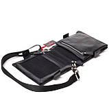 Мужская сумка кожаная черная Eminsa 6096-37-1, фото 4