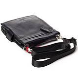 Мужская сумка кожаная черная Eminsa 6096-37-1, фото 5
