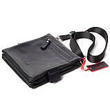 Мужская сумка кожаная черная Eminsa 6096-37-1, фото 6