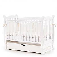 Детская кроватка Кроватка Верес Соня ЛД15 ЕС (новый функционал) белый, фото 1