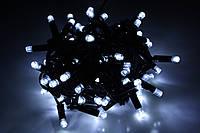 Уличная светодиодная гирлянда нить Lumion String Light (Стринг лайт) 100 led цвет белый холодный без каб пит