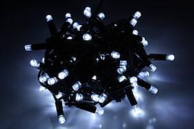 Уличная светодиодная гирлянда нить Lumion String Light (Стринг лайт) 100 led наружная цвет белый холодный