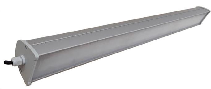 Светодиодный LED светильник Trunk 50W 1,5м 6450Lm IP65 алюминиевый, герметичный, линейный
