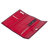 Женский кошелек Karya 1142-08 кожаный красный, фото 6