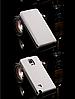 [ Чехол-флип Samsung Note 4 N910 ] Кожаный флип-чехол для Самсунг белый