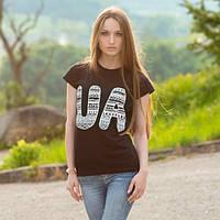 Женская патриотическая футболка
