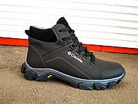 Зимние кожаные мужские ботинки Columbia, фото 1
