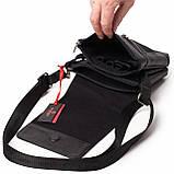 Мужская сумка Eminsa 6022-37-1 кожаная черная, фото 5