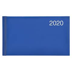 Еженедельник датированный 2020 BRUNNEN MIRADUR Карманный срб/т ярко-синий
