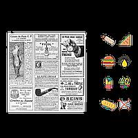 "Упаковочная Бумага ""Газета"" жиростойкая  320х320мм (ВхШ) 40г/м² 1000шт (1615)"