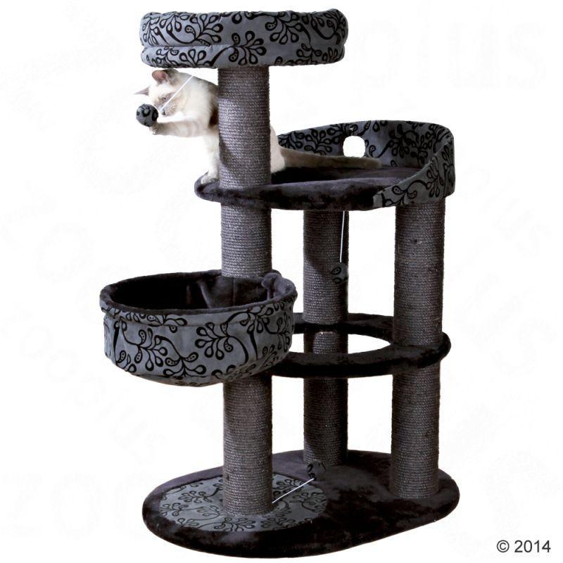 Игровой комплекс для котов Elegant с лежанками для кошки и когтеточкой