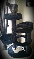 Игровой комплекс для котов Elegant с лежанками для кошки и когтеточкой, фото 3