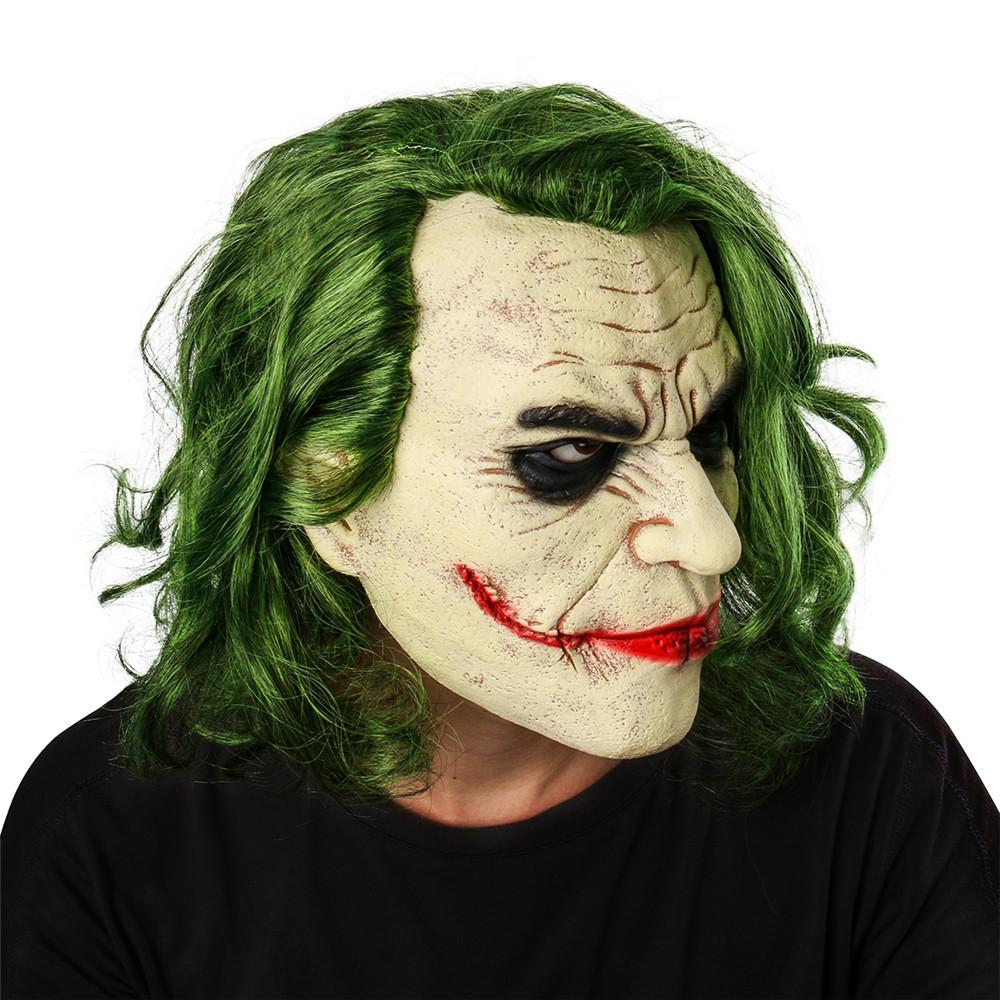 Маска Джокера - Бэтмен Темный рыцарь с волосами