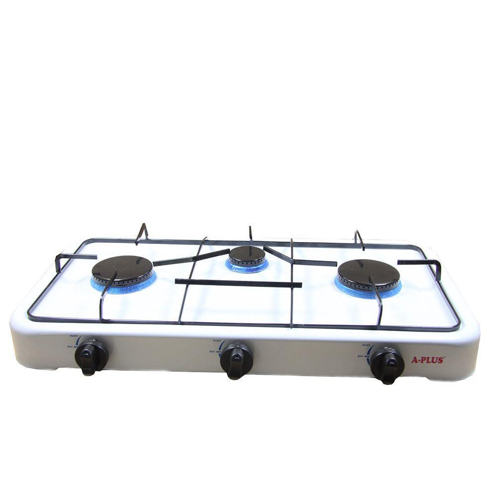 Газовая плита А-Плюс 2107, 3 конфорки