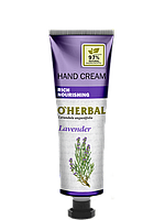 Крем для рук питательный Лаванда 30 мл O'Herbal