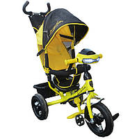 Детский велосипед Azimut BC17-B-AIR Ламборджини (надувное колесо) фара