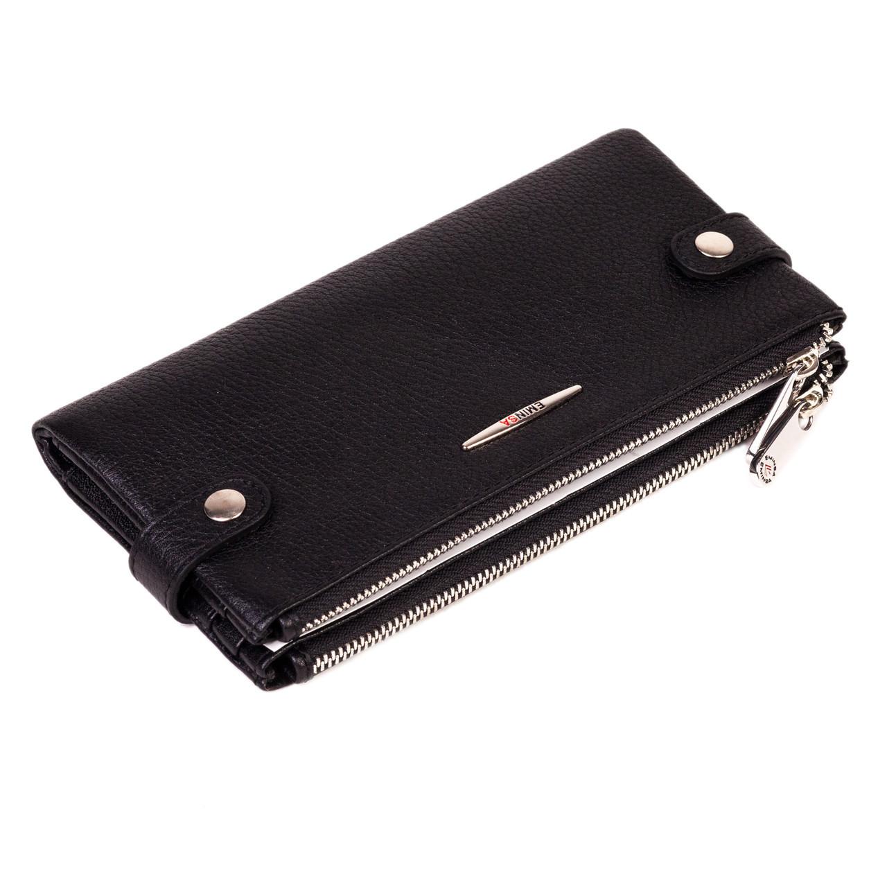 Женский кошелек Eminsa 2117-18-1 кожаный черный