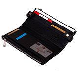 Женский кошелек Eminsa 2117-18-1 кожаный черный, фото 5