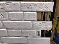 Панели ПВХ Кирпич «Ретро белый» Регул, фото 1
