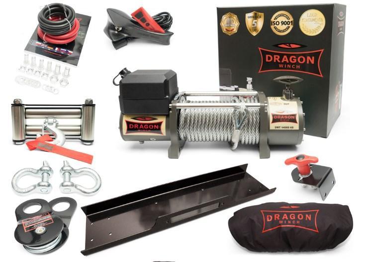 Лебедка Dragon Winch DWT 14000 HD 24V