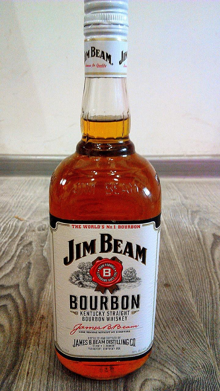 Американский бурбон Джим Бим 1л/ Jim Beam 1L