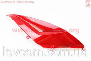 Пластик - вставка пластика заднего верхнего левого, КРАСНЫЙ Viper - MATRIX 50