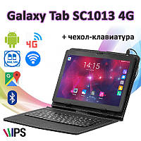 "Мощный! 4G Планшет-Телефон Galaxy Tab SC1013 4G 10.1"" IPS 2 GB RAM 32 GB ROM GPS + Чехол-клавиатура"