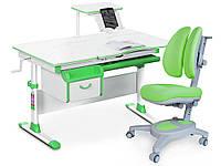 Комплект Evo-kids Evo 40 Z Green (стол+ящик+полка+кресло)