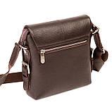 Мужская сумка Karya 0520-39 кожаная c плечевым ремнем, фото 2