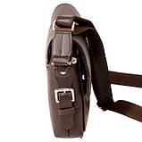 Мужская сумка Karya 0520-39 кожаная c плечевым ремнем, фото 3