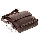 Мужская сумка Karya 0520-39 кожаная c плечевым ремнем, фото 4