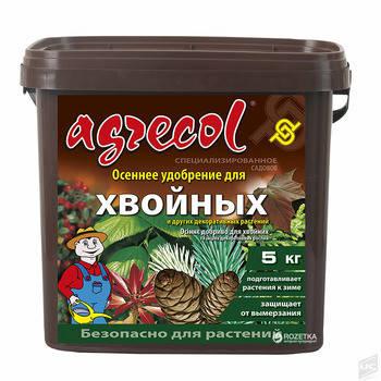 Agrecol/Агрекол удобрение осеннее для хвойных культур, 5 кг, фото 2